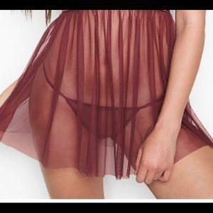 Victoria's Secret Maroon G-String NWT